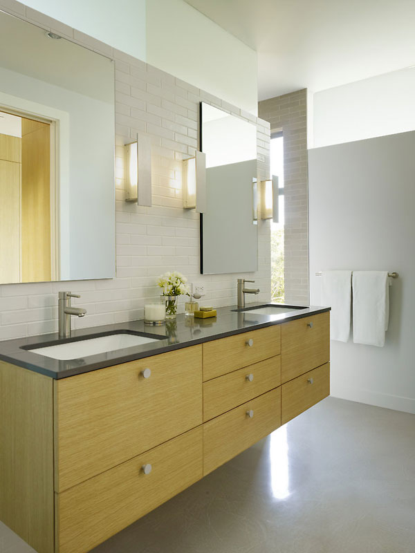 wood concrete glass contemporary house (1)