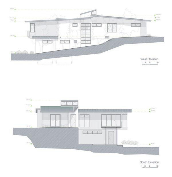 wood concrete glass contemporary house (14)