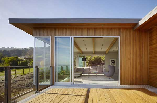 wood concrete glass contemporary house (4)