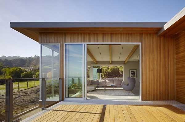 wood concrete glass contemporary house (4)