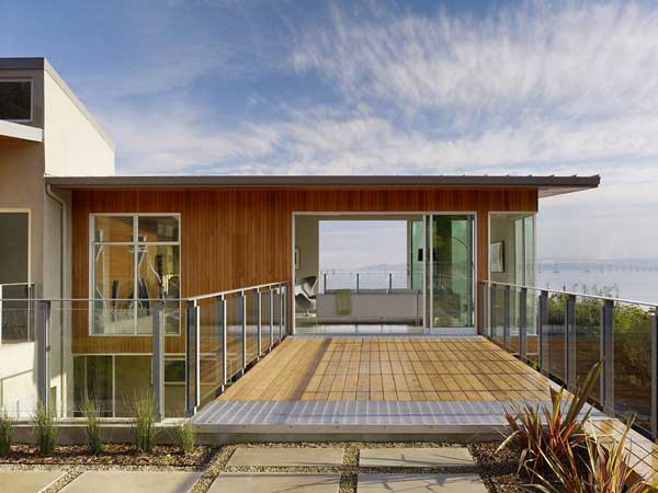 wood concrete glass contemporary house (8)