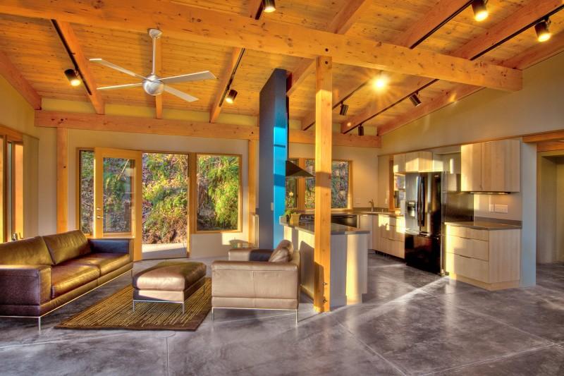 wood modern house (3)