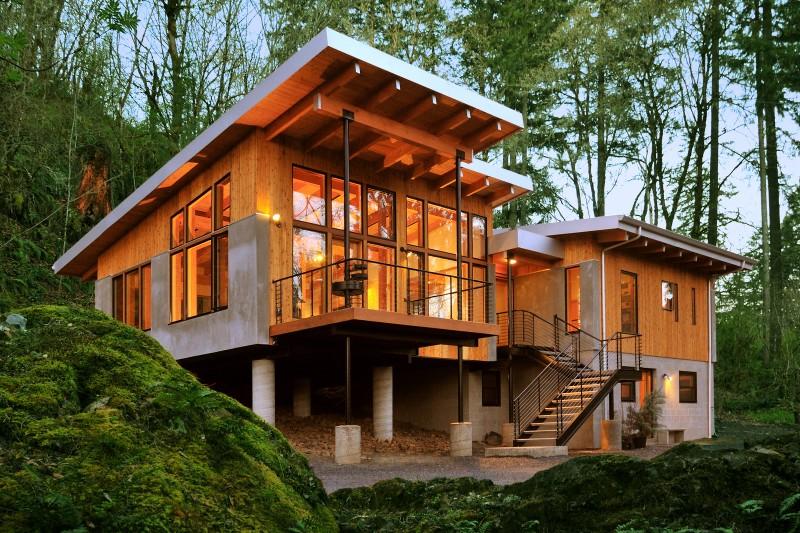 wood modern house (4)