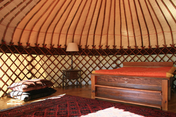 yurt cottage country house idea serene nature (2)