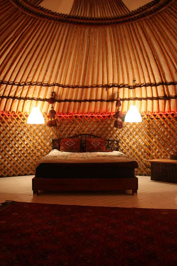 yurt cottage country house idea serene nature (5)