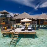 บรรยากาศพักผ่อนสบายๆ Gili Lankanfush รีสอร์ทน่าไปในหมู่เกาะมัลดีฟส์