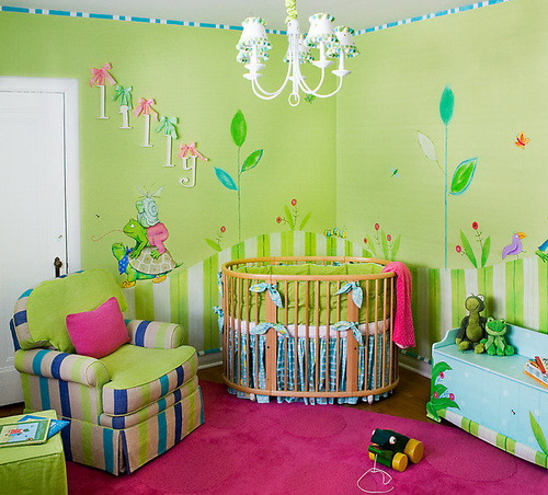 baby bedroom decoration idea for family (16)