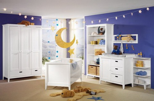 baby bedroom decoration idea for family (2)