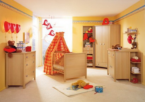 baby bedroom decoration idea for family (4)