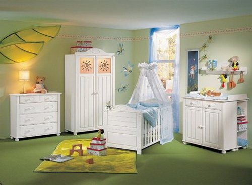 baby bedroom decoration idea for family (5)