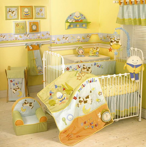 baby bedroom decoration idea for family (6)