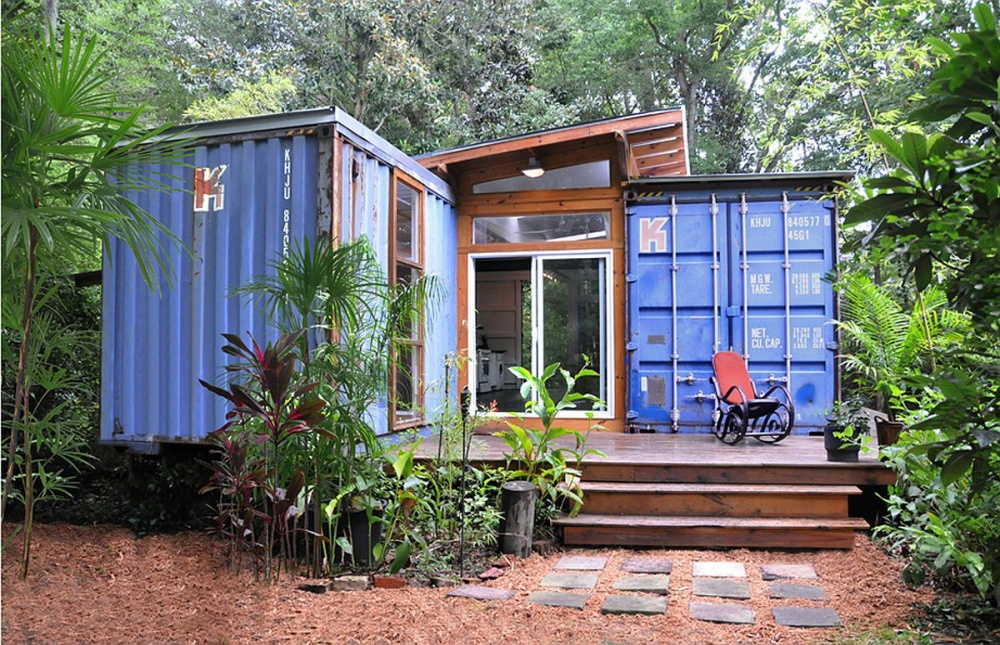 container small house cute good idea (2)