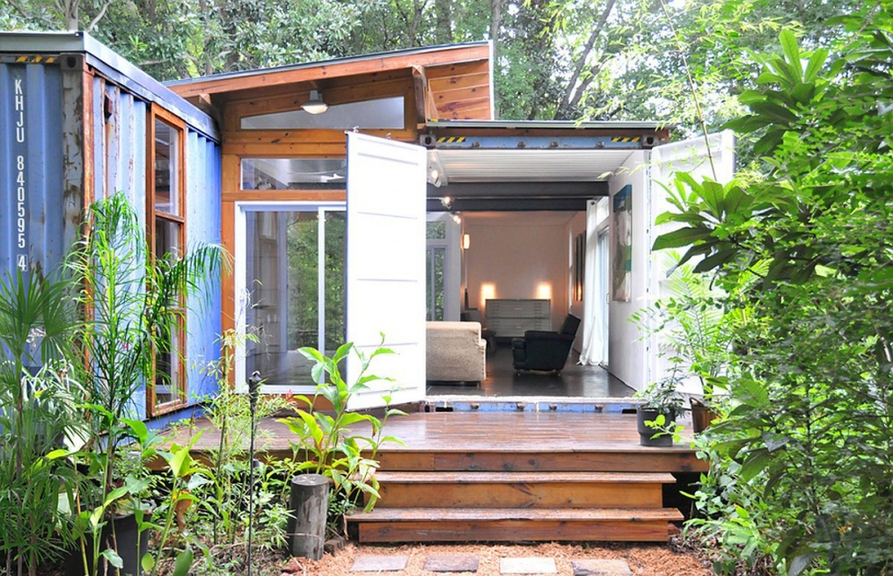 container small house cute good idea (3)
