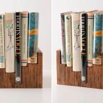 ไอเดีย DIY ชั้นวางหนังสือสุดแหวกแนว ทำง่ายๆกลายเป็นของแต่งบ้านมีเอกลักษณ์