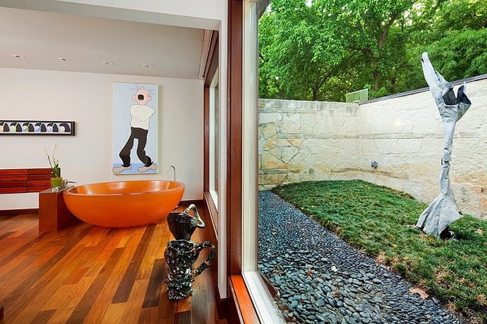 garden house tree modern glass wood (7)