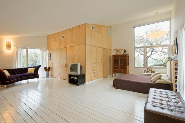 house concrete glass lawn (8)