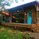 แบบบ้านไม้ชั้นเดียว ออกแบบสไตล์อเมริกัน สำหรับการอยู่อาศัยและพักผ่อน