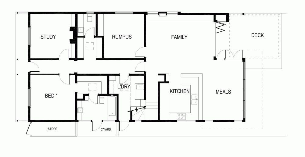 modern contemporary house plan australia (14)