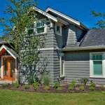 แบบบ้านสองชั้นทรงโมเดิร์นคอทเทจ ออกแบบเรียบง่ายน่ารัก เหมาะกับครอบครัวเล็กๆ