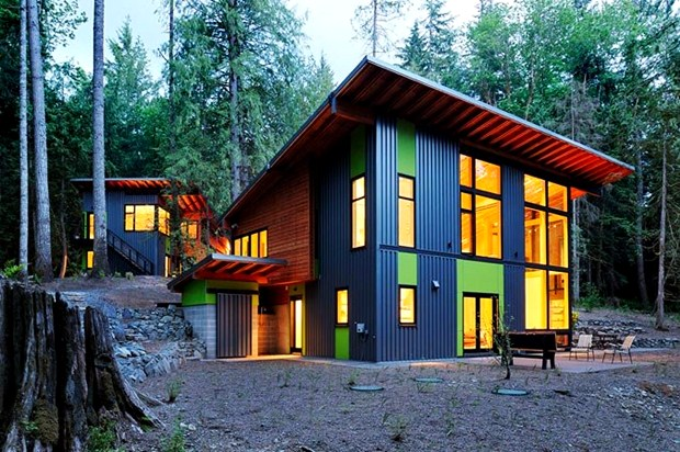 modern eco friendly house in natural forest (1)