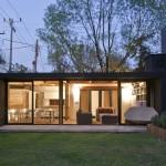 แบบบ้านหลังเล็กแนวโมเดิร์น ออกแบบได้อย่างสวยงาม ปลอดโปร่งสบายตา