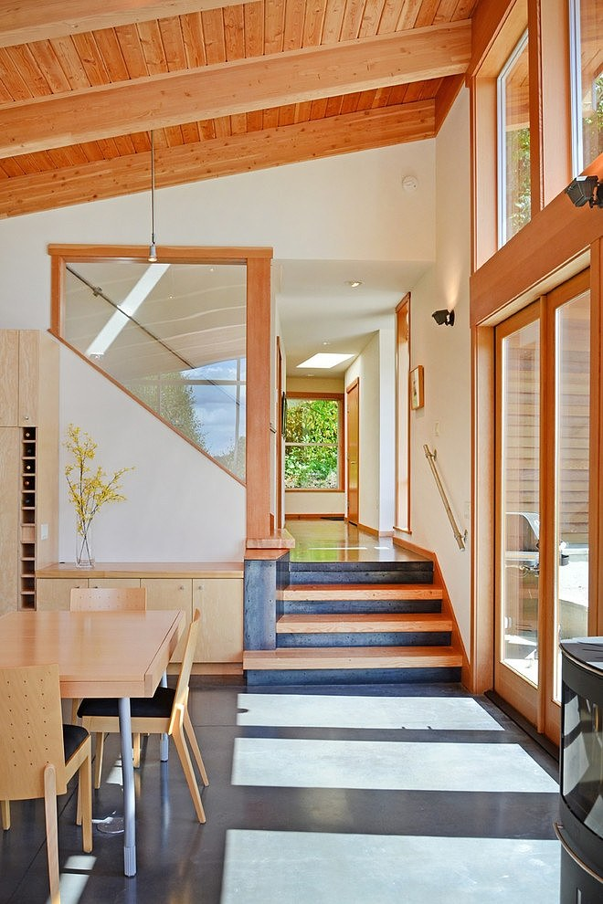 modern wooden house natural peachful (2)
