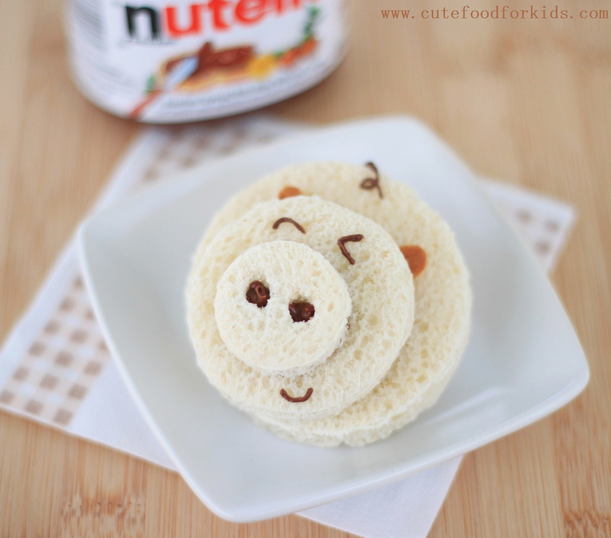 Piggy Nutella Sandwich (1)