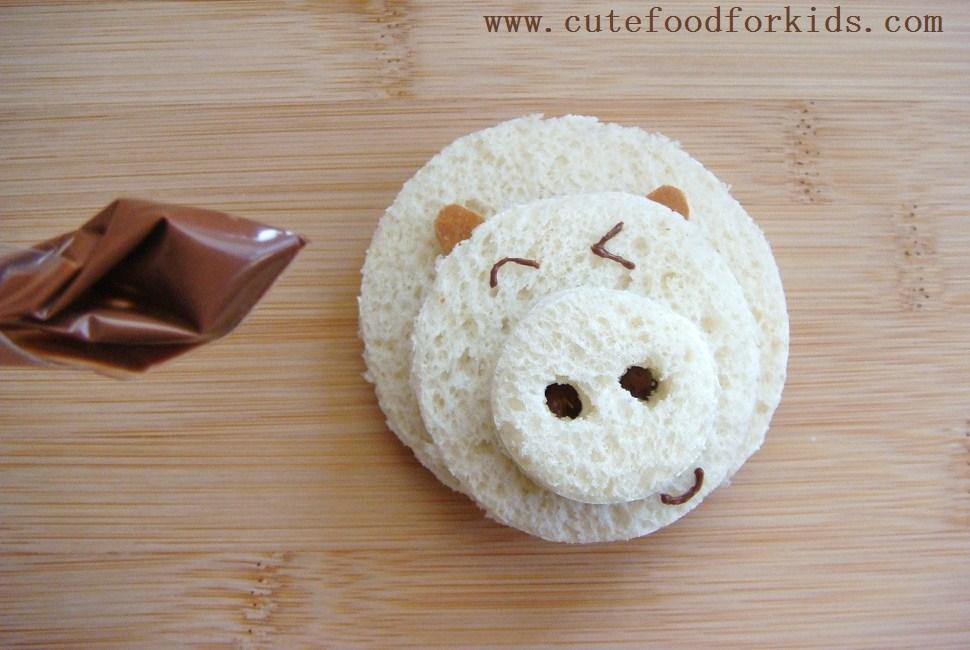 Piggy Nutella Sandwich (3)