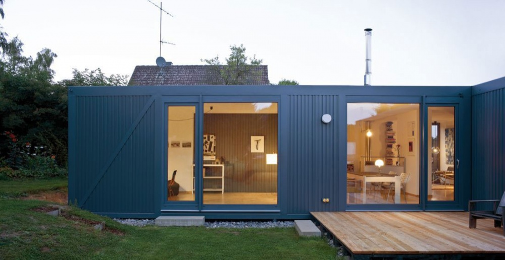 container house natural environment green (1)