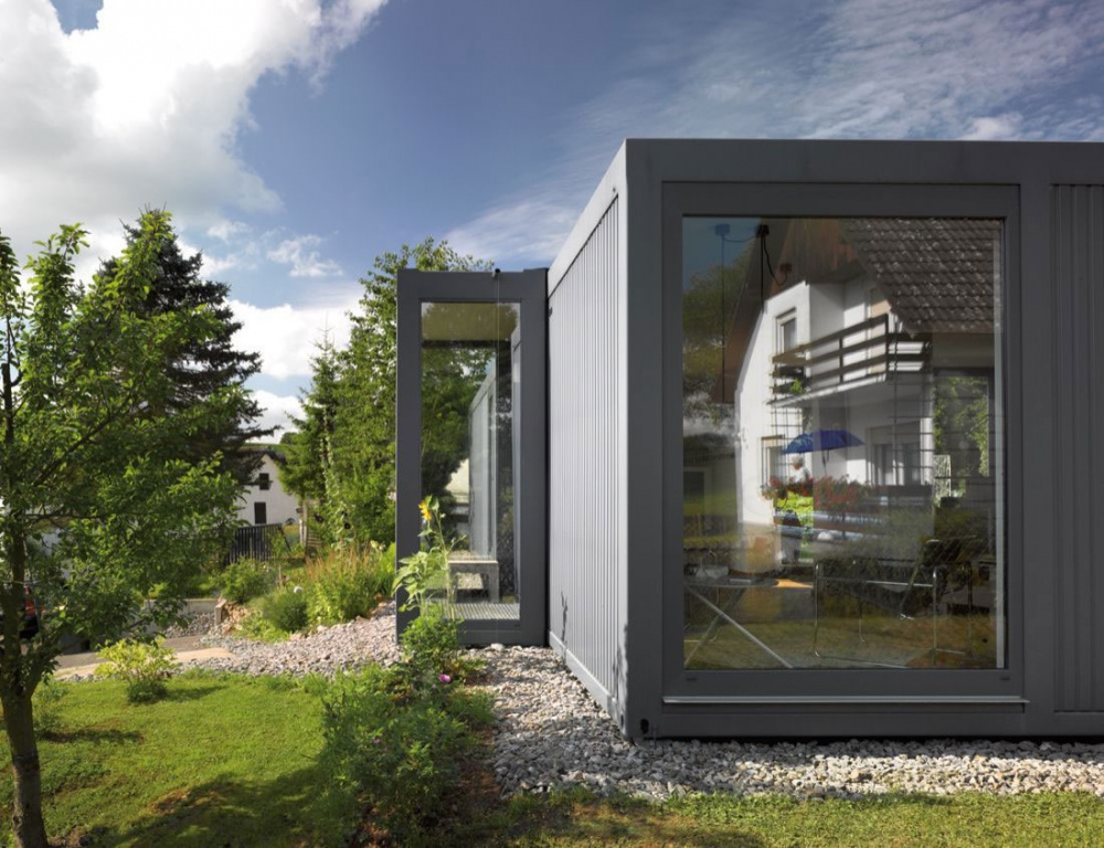 container house natural environment green (2)