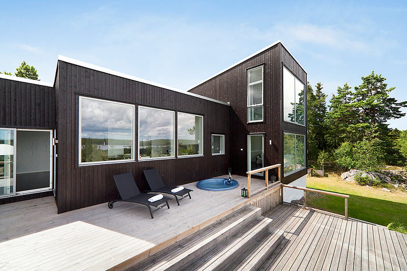 container monotone house modern glass (9)