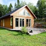 แบบบ้านไม้สำหรับคนรักความเรียบง่าย และชีวิตใกล้ชิดธรรมชาติ