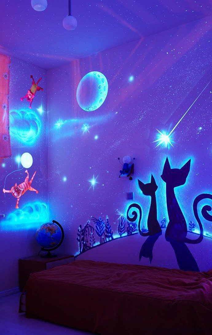 glow bedroom decoration idea (10)