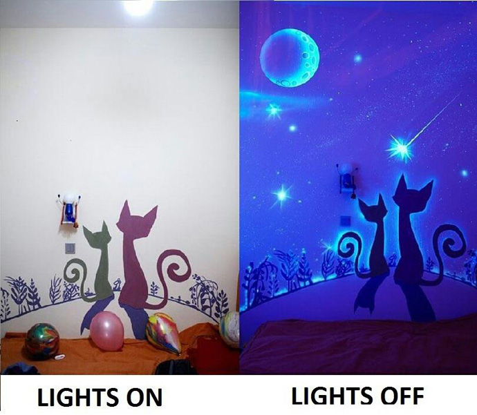 glow bedroom decoration idea (3)