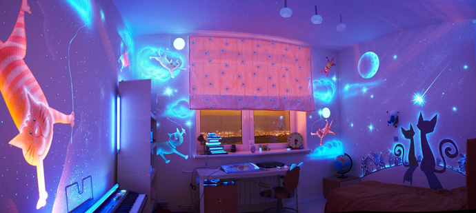 glow bedroom decoration idea (7)