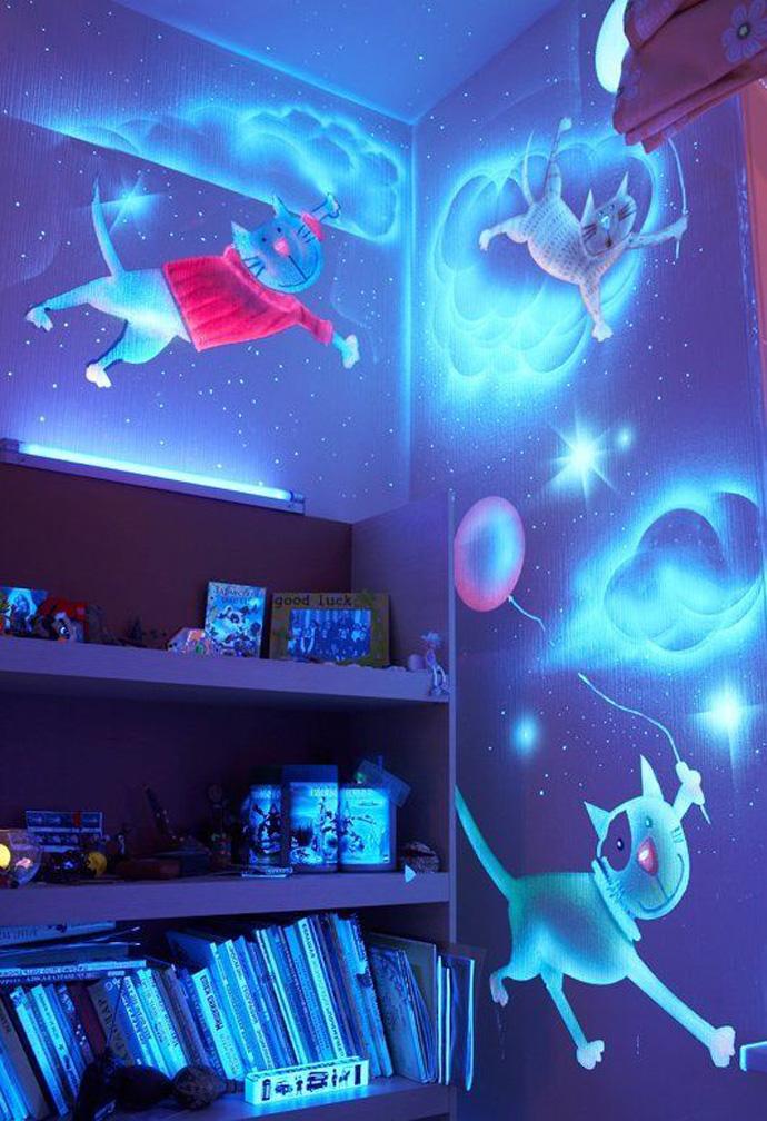 glow bedroom decoration idea (9)
