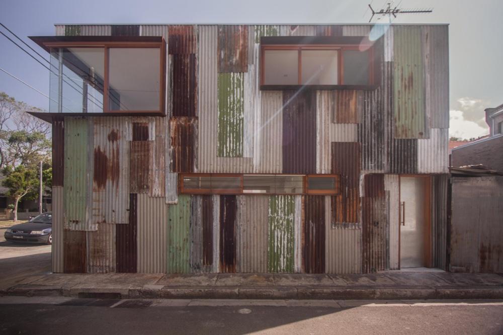 metal modern townhouse good idea (1)