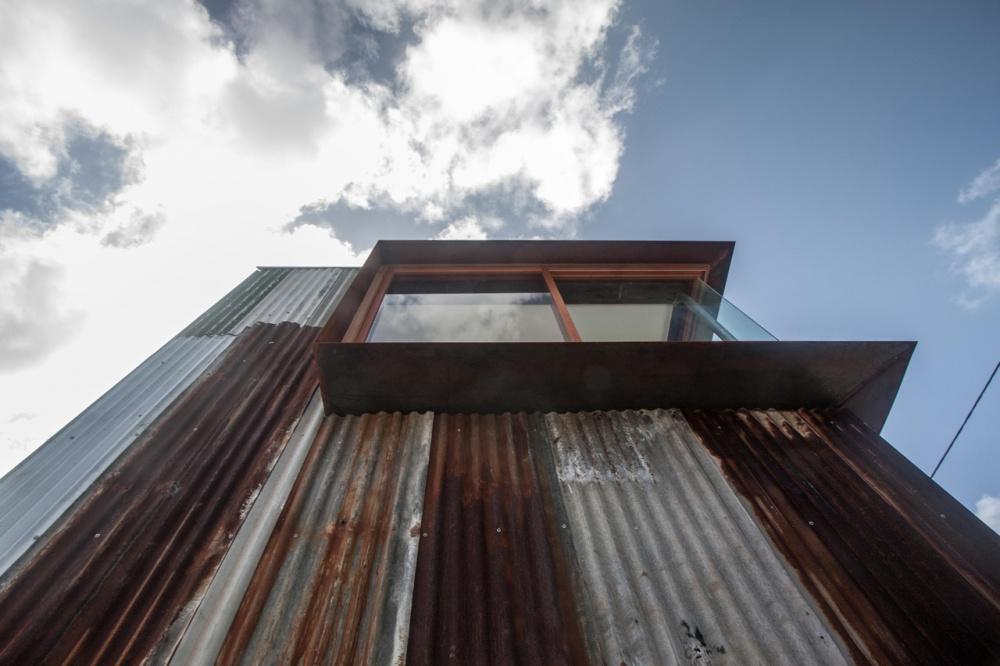 metal modern townhouse good idea (11)