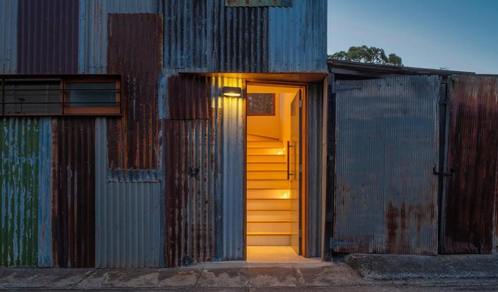 metal modern townhouse good idea (2)