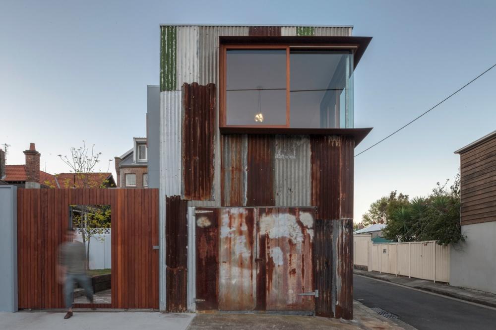 metal modern townhouse good idea (3)