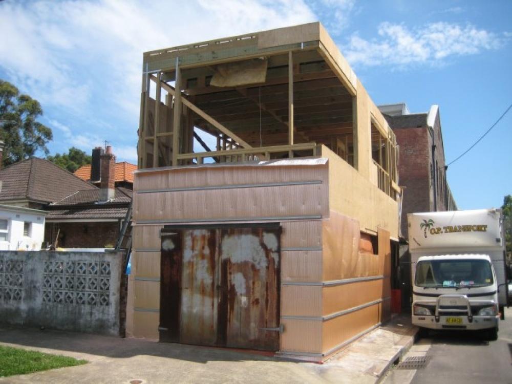 metal modern townhouse good idea (4)