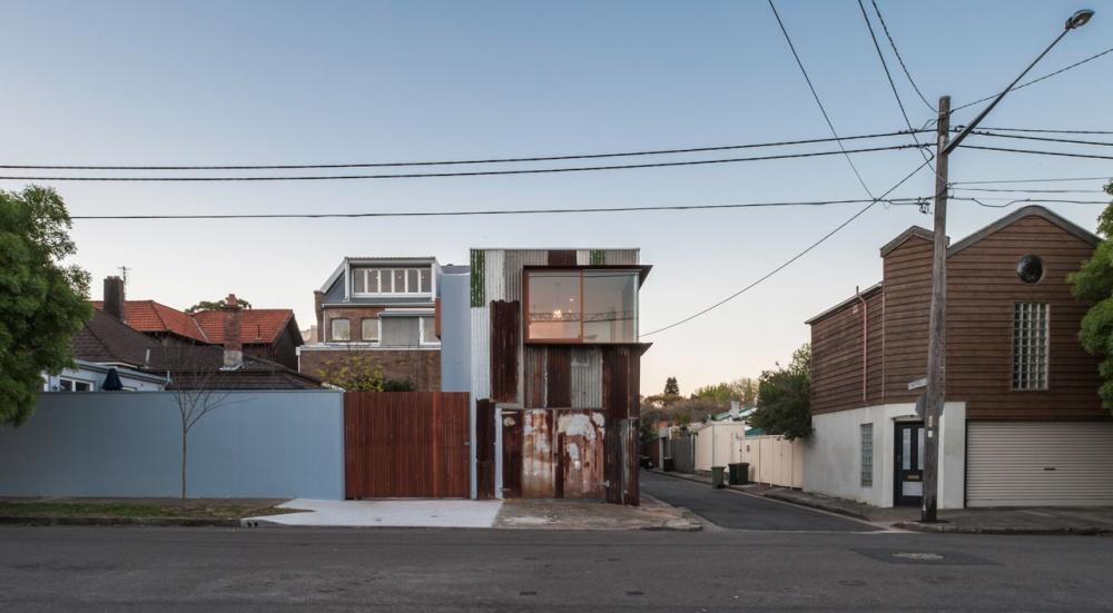 metal modern townhouse good idea (8)