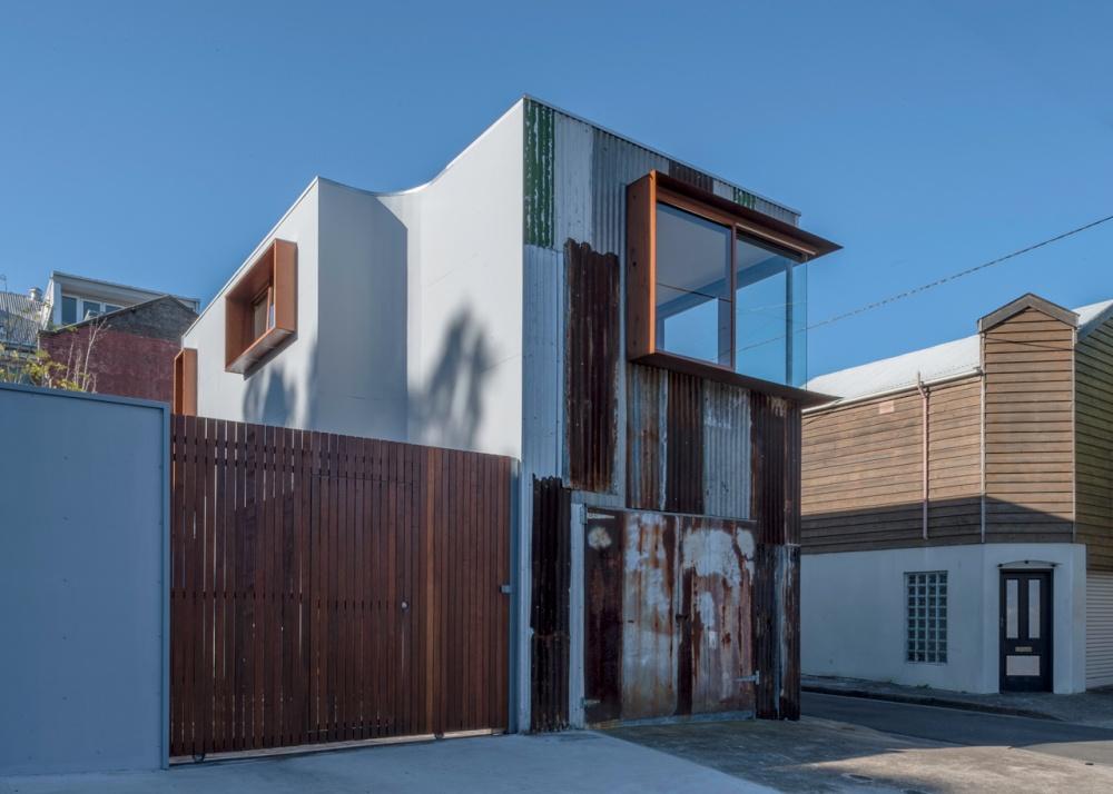 metal modern townhouse good idea (9)