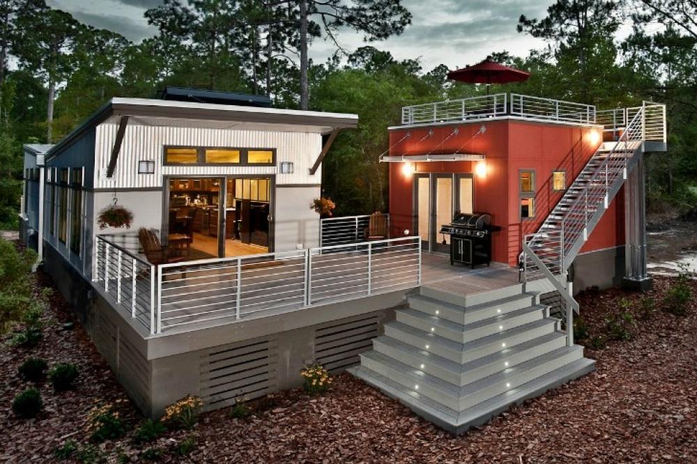 modern future house solar energy flood prevention smart (6)