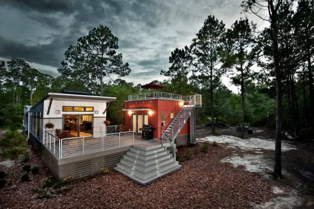 modern future house solar energy flood prevention smart (7)