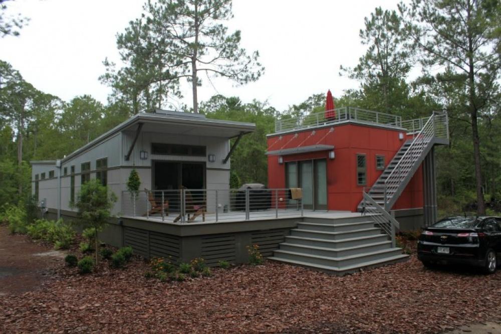 modern future house solar energy flood prevention smart (9)