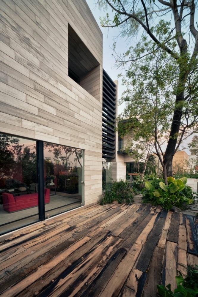 modern house natural surrounding green (7)
