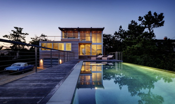modern vacation house on the beach galss (11)