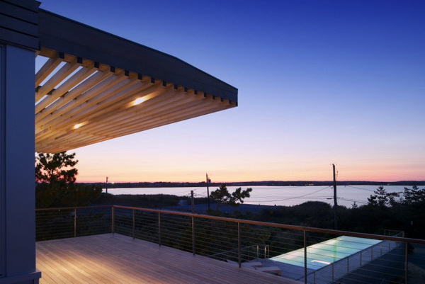 modern vacation house on the beach galss (9)