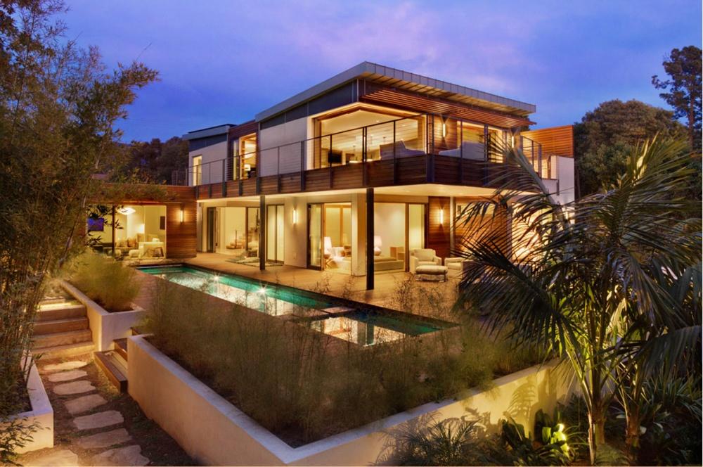 modern vacation house swimming pool enerfy saving (1)